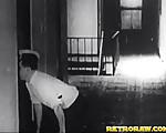 Horny janitor