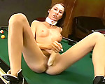 Hot on the snooker table