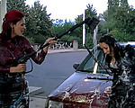 A sexy car wash