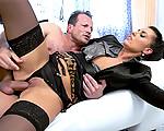 His hot secretary