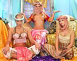 Horny harem girls