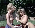 A threesome in the garden