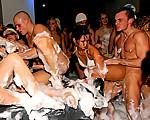 Massive foam orgy
