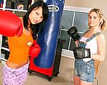 Lesbian boxing girls