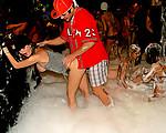 Horny foam party