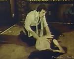 Vintage rape scene
