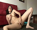 Latina girl masturbating