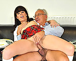 Fucked by old cock