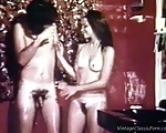 Vintage soapy sex